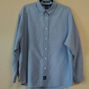 GAP The BIg Oxford Men Button Down Shirt.